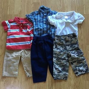 3 Outfit Set of Boy 12month Lot